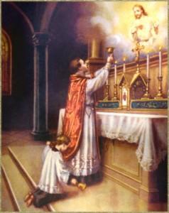Serving Mass
