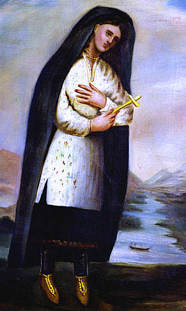 Catherine Tekakwitha, Virgin