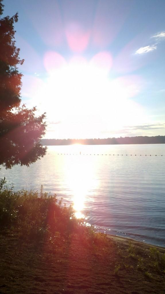 Sunrise on Balsam Lake