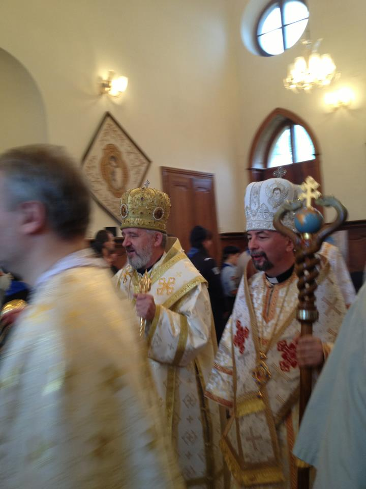 After the Divine Liturgy