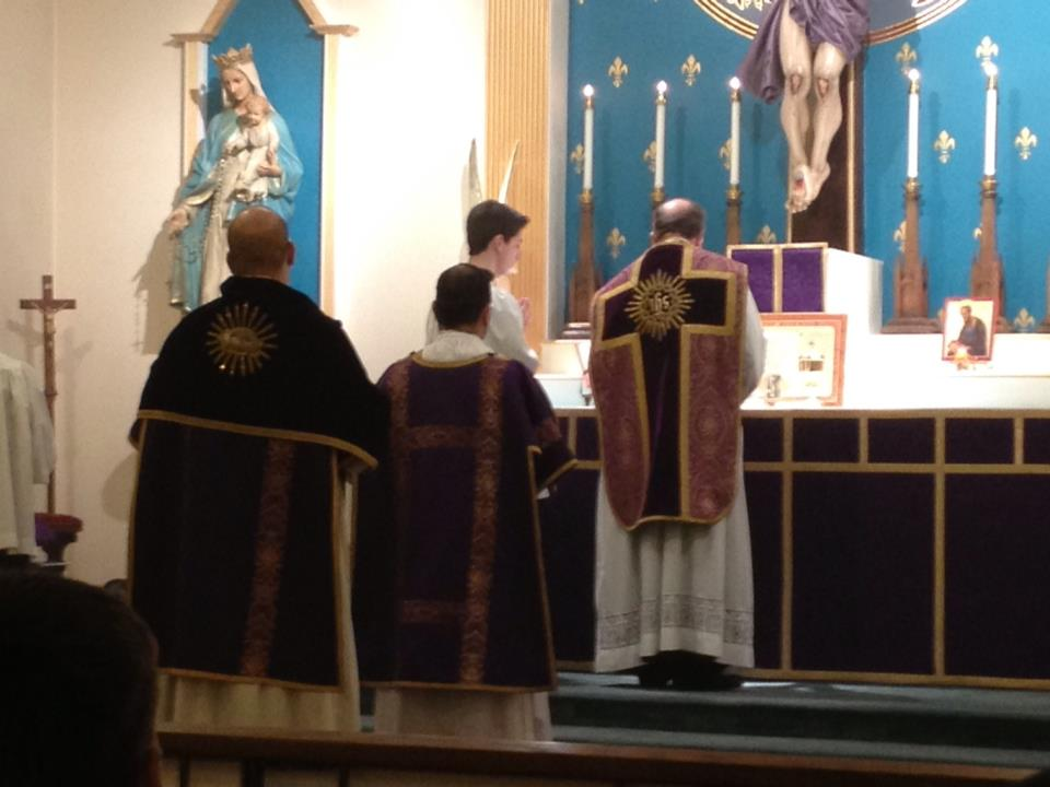 Solemn Mass in the traditional Roman Rite