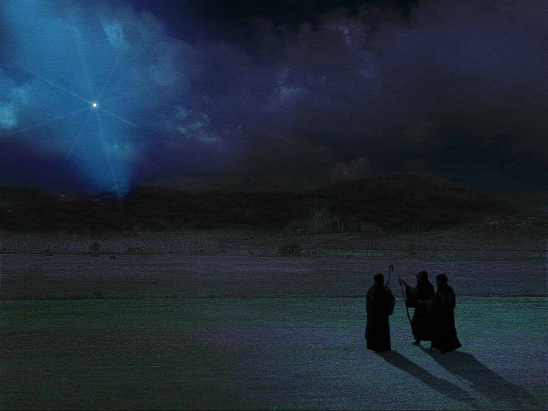Advent - The Three Wise Men Decry the Star of Bethlehem