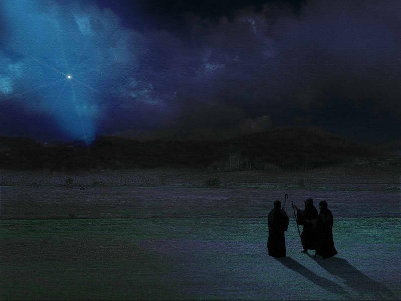 Advent - The Three Wise Men Decry the Star of Bethlehem